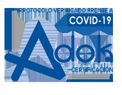 certificación adok covid-19
